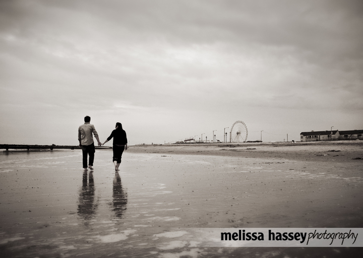 Engagement Portraits at the Jersey Shore!