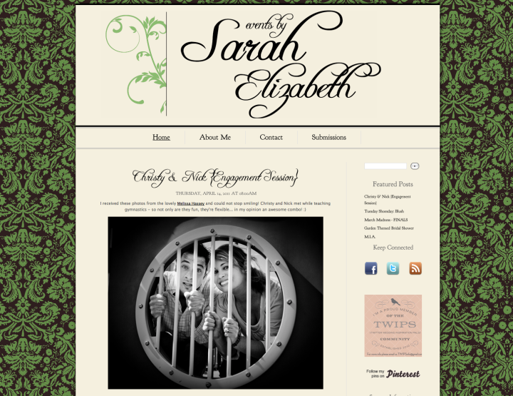 Events by Sarah Elizabeth Blog Post!