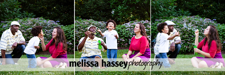 Family portraits at the Philadelphia Museum of Art & Azalea Garden