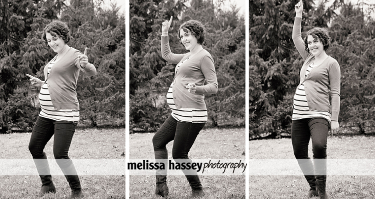 Pregnancy brain makes you dance
